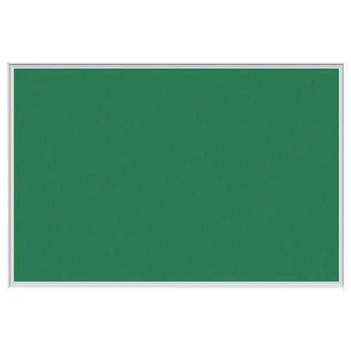 【キャッシュレス5%還元】馬印 ツーウェイ掲示板 W910×H610×D18mm グリーン 1枚