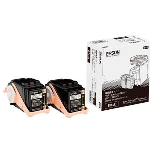 【送料無料】【法人(会社・企業)様限定】EPSON 環境推進トナー ブラック Mサイズ LPC3T31KPV 1箱(2個)