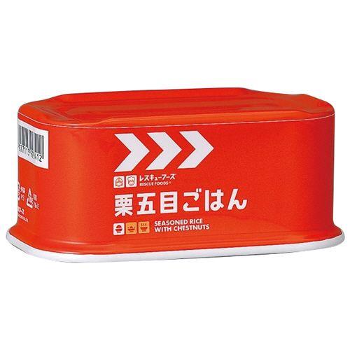 【キャッシュレス5%還元】ホリカフーズ レスキューフーズ 栗五目ごはん 200g 1セット(24缶)