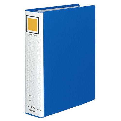 コクヨ チューブファイル(エコ) 片開き A4タテ 600枚収容 60mmとじ 背幅75mm 青 1セット(10冊)