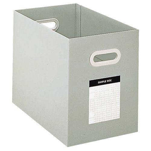 コクヨ サンプルボックス A4ヨコ 背幅204mm グレー 1セット(10個)