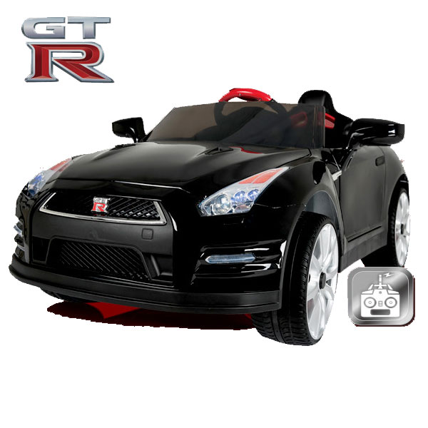 【代引き不可・送料無料】リモコン付 ラジコン/電動乗用カー日産GT-R R35 ABL-1603-
