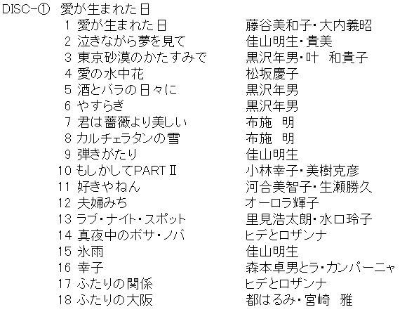 夜の有線歌謡 ー心に響いた名曲集ー 5枚組CD-BOX E7600