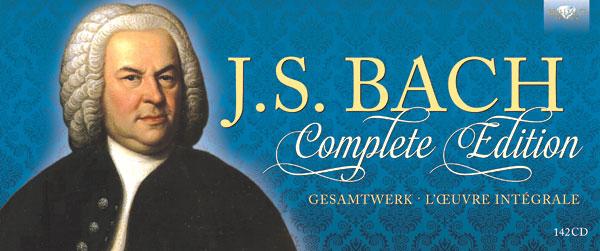 J.S.バッハ作品全集(CD 142枚組) BRL94940
