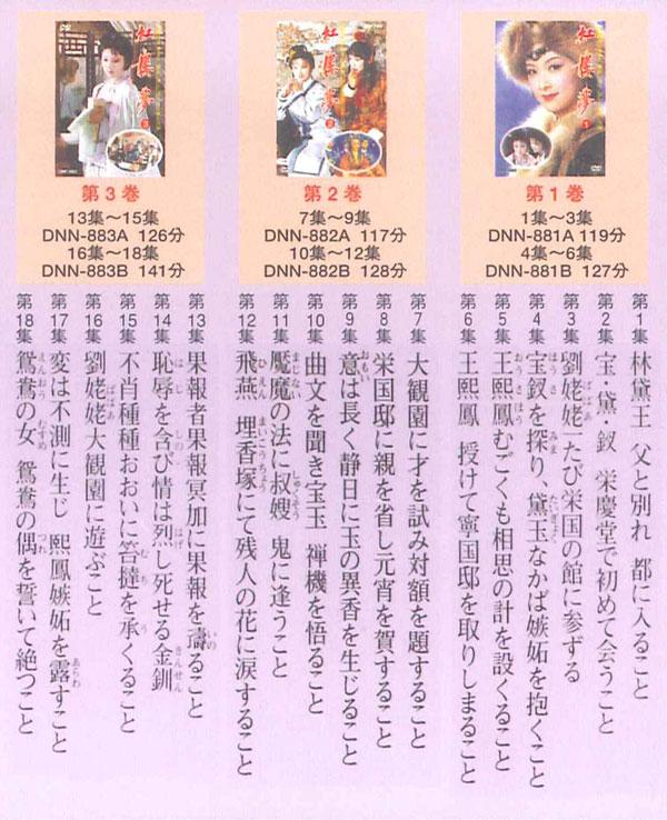 紅桜夢 完全版 全6巻 DVD BOX DNN-1299