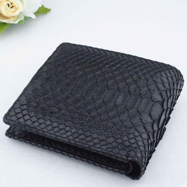 【代引き不可】Costoroma ダイヤモンドパイソン二つ折り財布