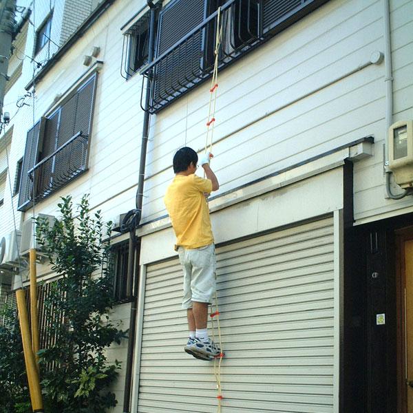 避難はしご セイフティロープ 8m