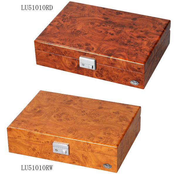 【日本総代理店 正規品】エスプリマ LUHW(ローテンシュラーガ) 木製8本用時計収納ケース LU51010RD、LU51010RW