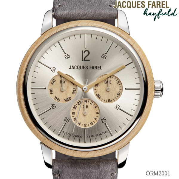 JACQUES FAREL(ジャックス ファレル) ) 多機能腕時計