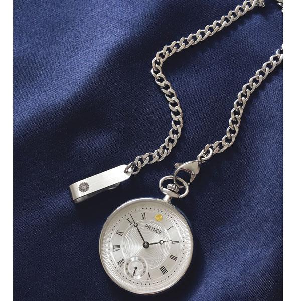 宮内庁御用賜 村松時計店 銀無垢 手巻き懐中時計