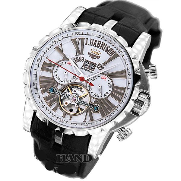 J.Harrison ジョン・ハリソン ビッグテンプ付多機能表示・自動巻&手巻き腕時計 JH-033SW