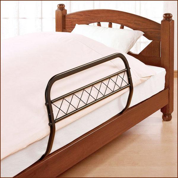 組み立て式ベッドガード2個組(専用カバー付)