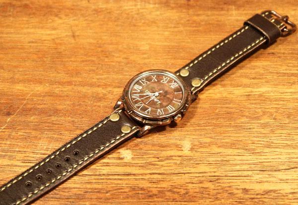 手作り腕時計 LEO CRAFT PB-GW351 メンズウォッチ