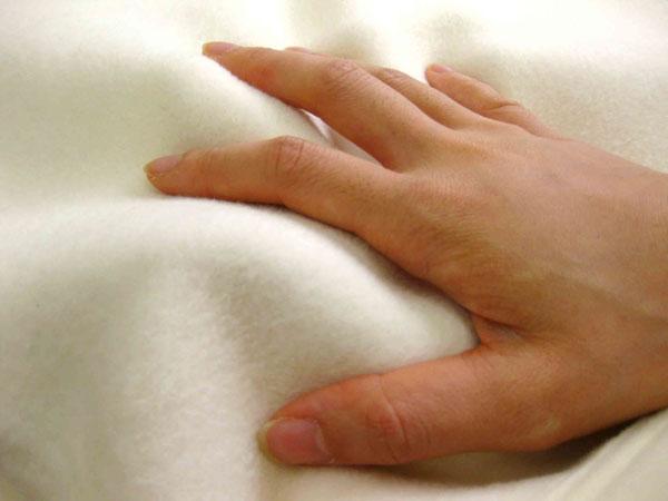 【代引き不可】ナチュラルコットン 柔らか毛布 綿毛布