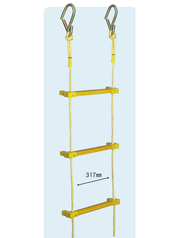 【代引き不可】ヤツヤ式縄ばしご 5m