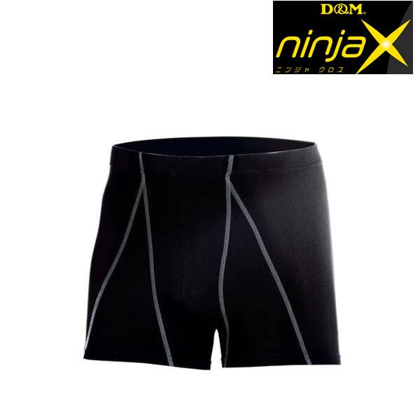 バレーボール用スポーツインナー スムーズな動きであと一歩前へ D 感謝価格 M ninjaX ニンジャクロス バレーボール ご予約品 メンズ緩動スポーツインナー ムーブ