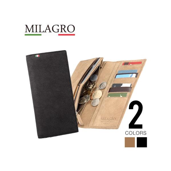 Milagro(ミラグロ) 駱駝(らくだ)シリーズ  28ポケット長財布 CA-C-526