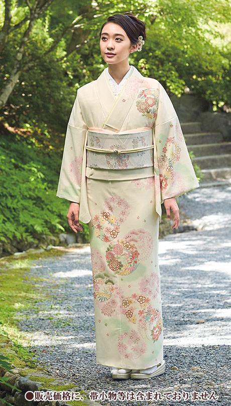 着物 訪問着 ジャパンスタイル 仕立て上がり 洗える着物 JL-45