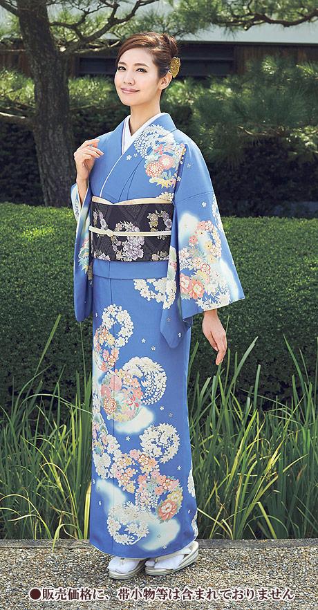 着物 訪問着 ジャパンスタイル 仕立て上がり 洗える着物 JL-46