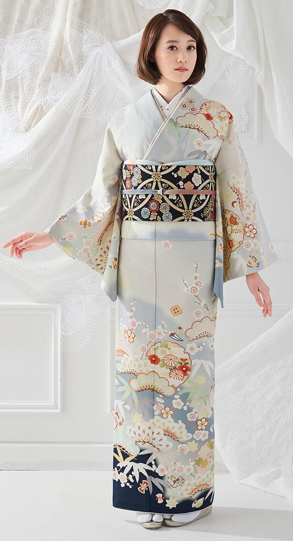 着物 訪問着 ジャパンスタイル 仕立て上がり 洗える着物 JL-54