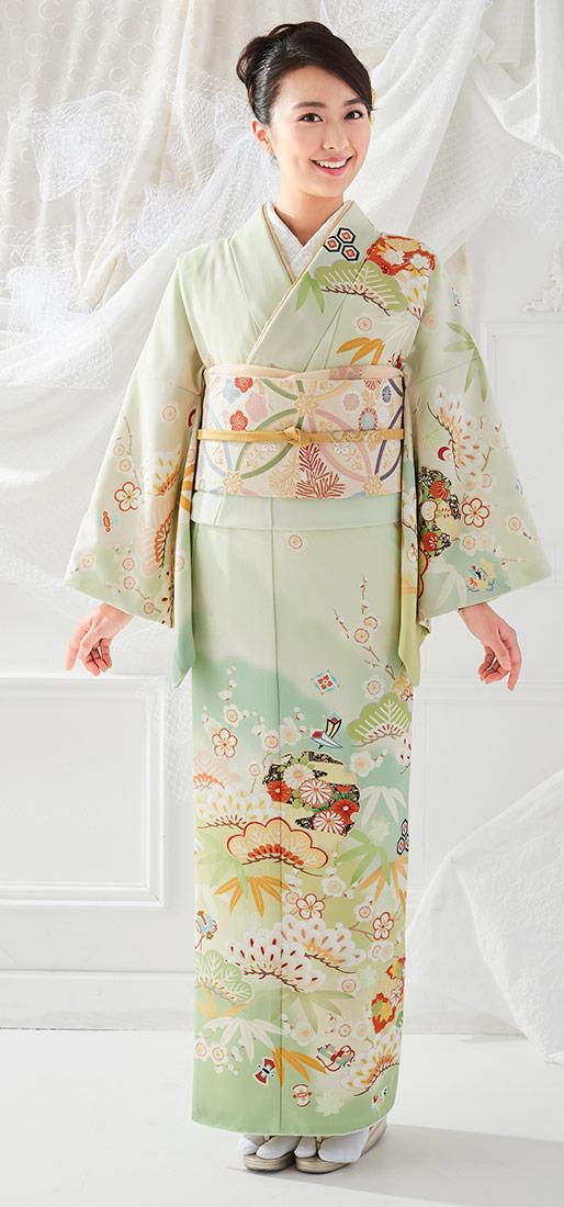 着物 訪問着 ジャパンスタイル 仕立て上がり 洗える着物 JL-56