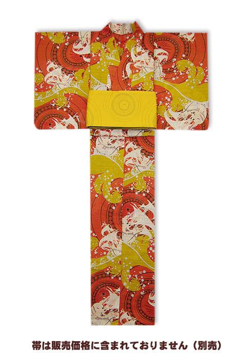 【SALE】岡重-浴衣(ゆかた)仕立て上がり30Y-14【送料無料】【あす楽対応】