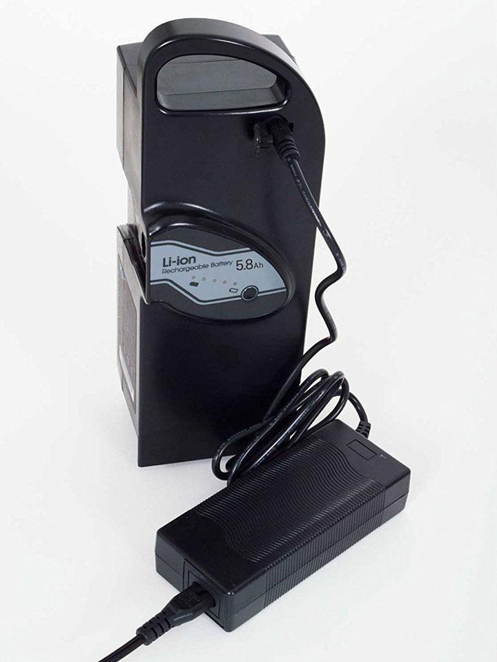 アシらくチャーリー用 バッテリー 送料無料【アシらくチャーリー用 リチウムイオンバッテリー】送料無料ポイント 倍 電動アシスト 三輪自転車 アシらくチャーリー 専用 バッテリー 電池 MG-BATTERY5.8 mim