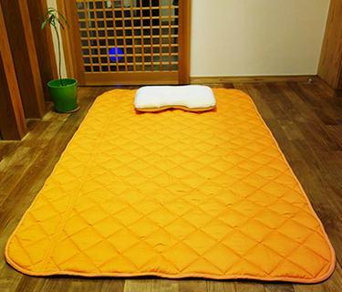 gaiga 地磁気パッド ベッドパッド パッド コットン 電磁波 安眠 シーツ 遠赤外線 送料無料【丸山式地磁気パッドガイアコットン セミダブルサイズ】【送料無料】心地よい眠りをサポートする丸山式の敷きパッドです。 mate