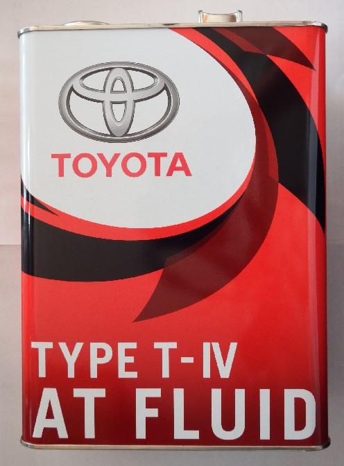 TOYOTA Genuine ATF Fluid トヨタ純正 4L 注文後の変更キャンセル返品 最新 08886-81015 T-IV ATフルードTYPE