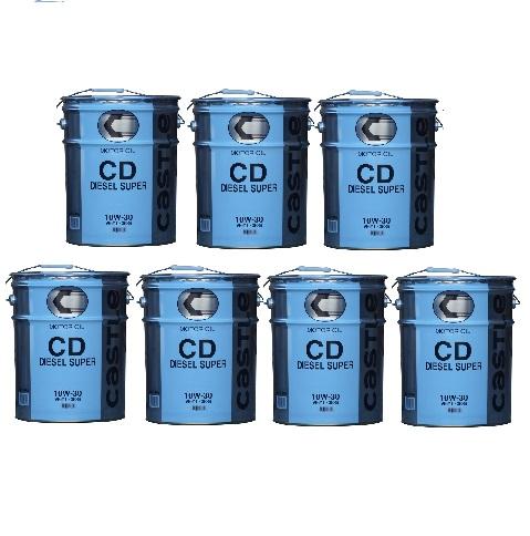 トヨタ・キャッスル・ディーゼルオイルCD10W30 V9210-3536 20L×7缶【1缶毎に送料がかかります!送料安!】