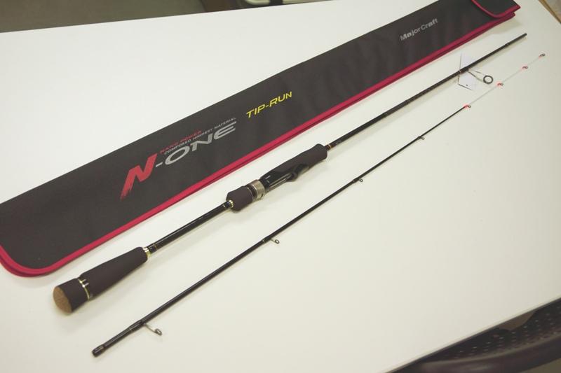 メジャークラフト Major Craft エヌワン N-ONE 2 piece ロッド rod #NSE-S602EH/TR代引き不可