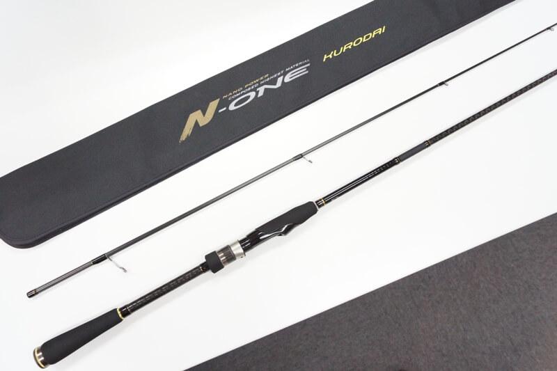 メジャークラフト Major Craft エヌワン N-ONE 2 piece ロッド rod #NSL-802ML KURODAI 代引き不可