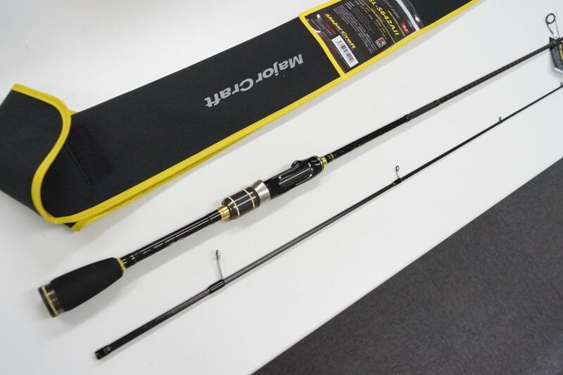メジャークラフト Major Craft エヌワン N-ONE 2 piece ロッド rod #NSL-S642AJI 代引き不可