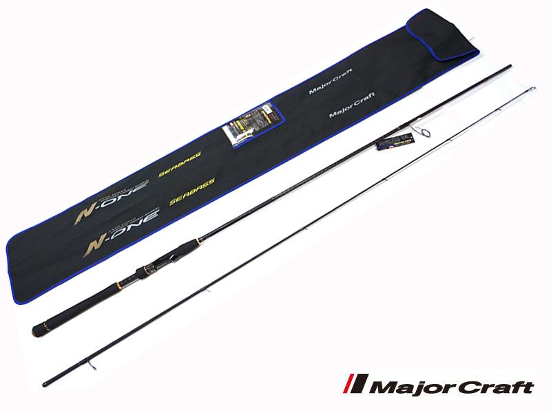 メジャークラフト Major Craft エヌワン N-ONE 2 piece ロッド rod #NSS-862ML代引き不可