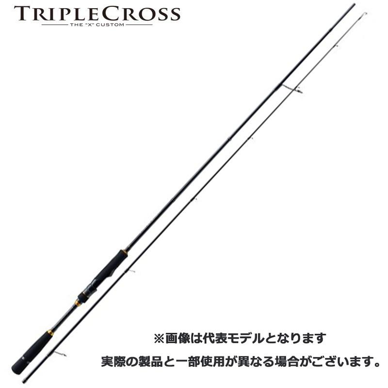 メジャークラフト トリプルクロス 2ピースロッド TCX-802MH/S【メール便(定形外)不可】代引き不可