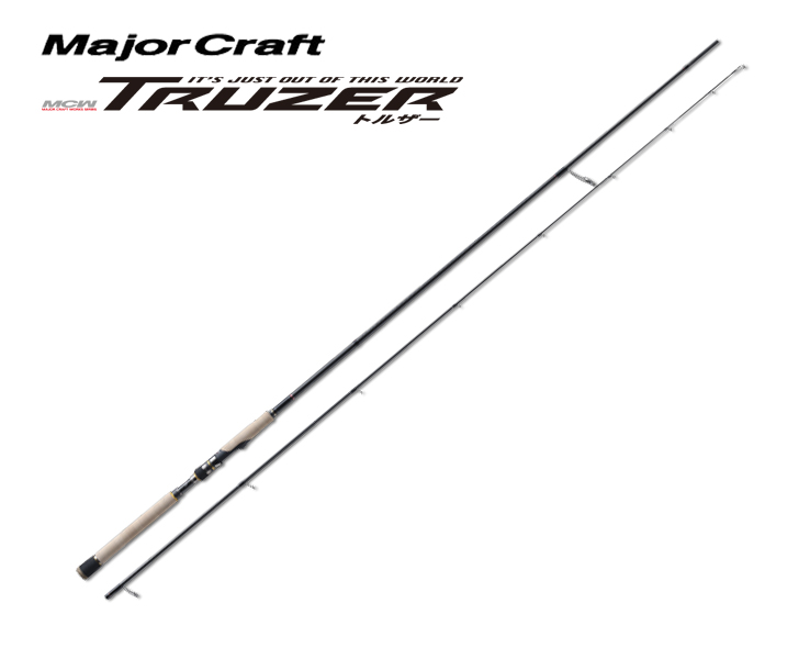 メジャークラフト Major Craft トルザー TRUZER 2 piece ロッド rod #TZS-902L代引き不可