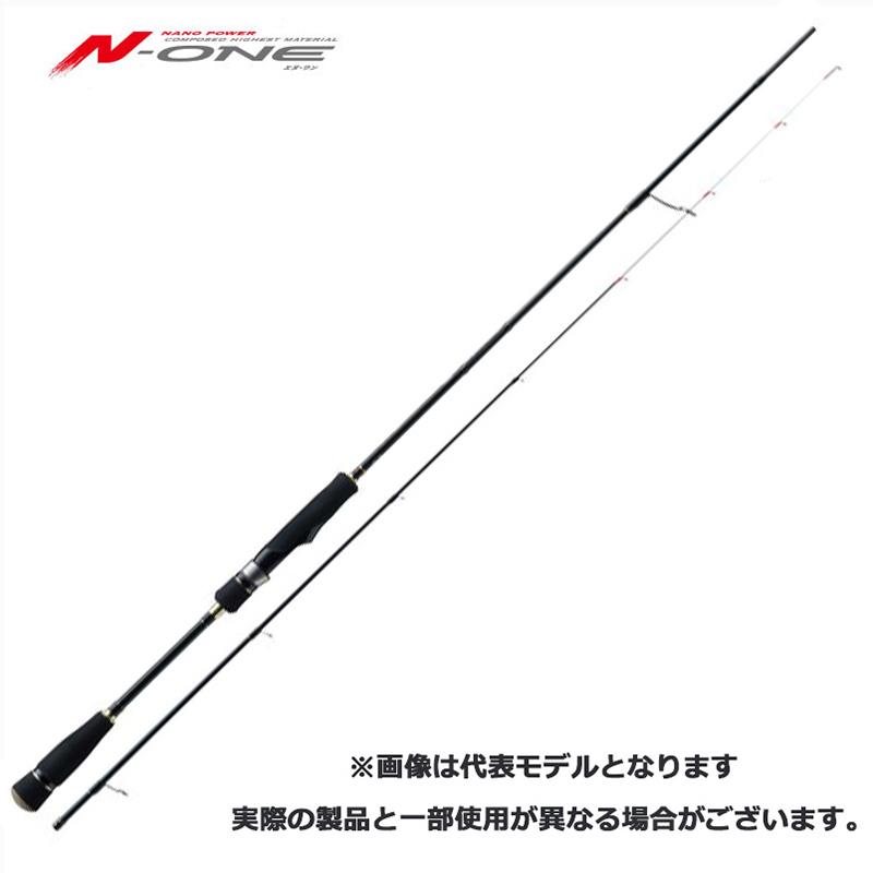 メジャークラフト Major Craft エヌワン N-ONE 2 piece ロッド rod #NSE-S602E/TR【メール便(定形外)不可】代引き不可
