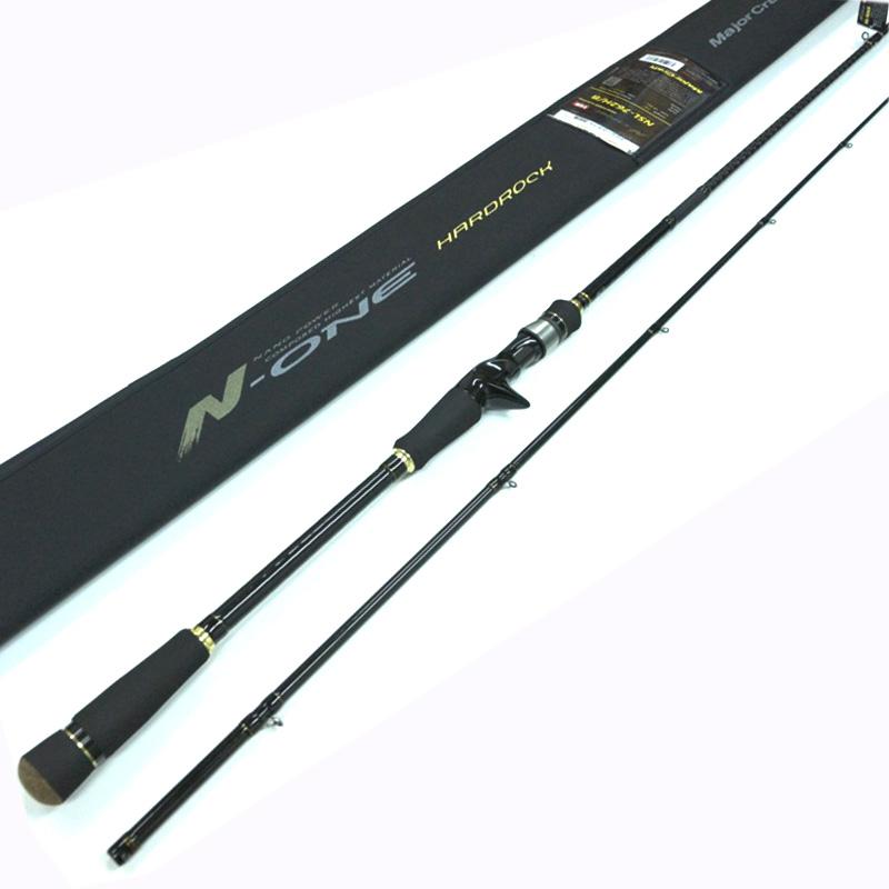 メジャークラフト Major Craft エヌワン N-ONE 2 piece ロッド rod #NSL-762H/B【メール便(定形外)不可】代引き不可