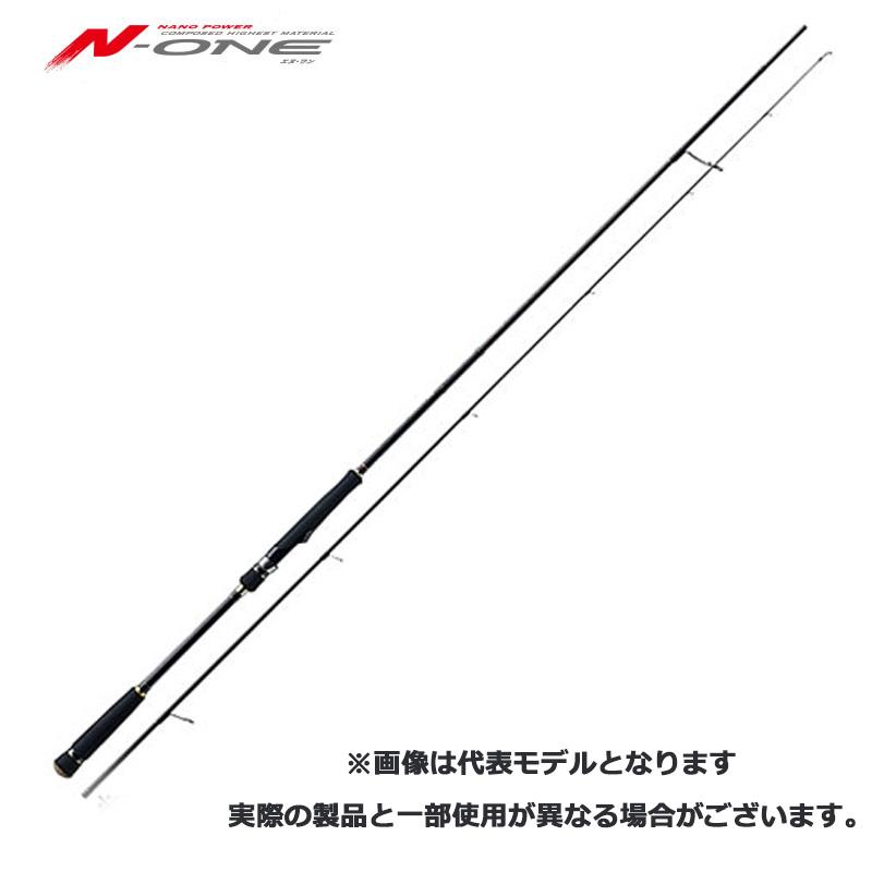 メジャークラフト Major Craft エヌワン N-ONE 2 piece ロッド rod #NSS-862MW【メール便(定形外)不可】代引き不可