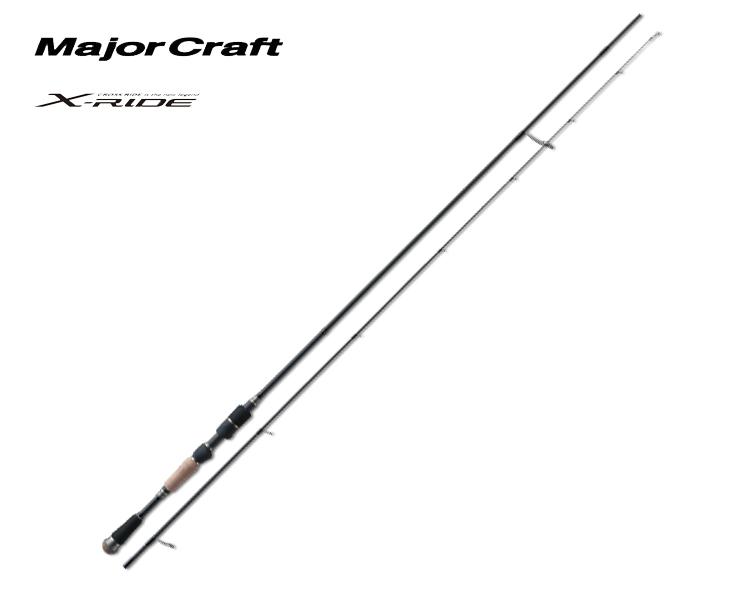 メジャークラフト Major Craft クロスライド X-RIDE 2 piece ロッド rod #XRS-S762M代引き不可