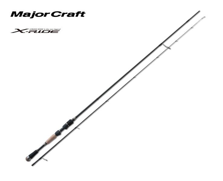 メジャークラフト Major Craft クロスライド X-RIDE 2 piece ロッド rod #XRS-S792M代引き不可