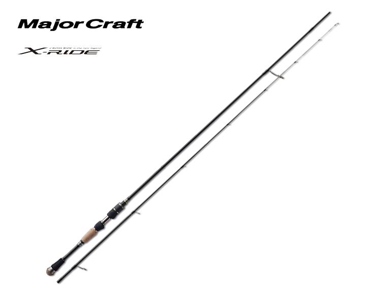 メジャークラフト Major Craft クロスライド X-RIDE 2 piece ロッド rod #XRS-T762AJI代引き不可
