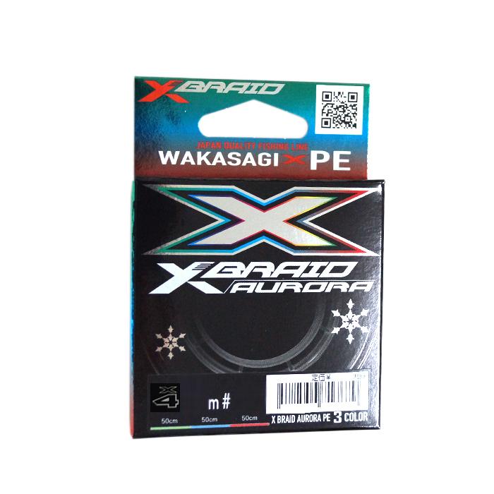 新商品 新型 YGK エックスブレイド オーロラ X4 60m 店内限界値引き中&セルフラッピング無料 0.2号