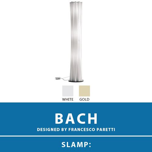 【BACH:バッハ】FLOOR LAMP XL フロアーランプ スタンドライト フロアスタンド スタンド照明 E26 3灯 LED電球付属 間接照明 照明 エレガント 北欧 モダン デザイン 輸入照明 デザイナーズ照明 ブランド照明 ライト ITALY イタリア *SLAMP スランプ