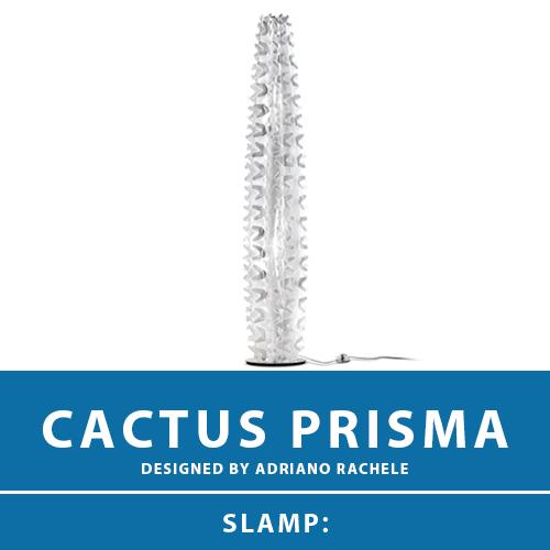 【CACTUS PRISMA:カクタス プリズマ】FLOOR LAMP XL フロアーランプ スタンドライト フロアスタンド スタンド照明 E26 2灯 LED電球付属 間接照明 照明 エレガント 北欧 モダン デザイン 輸入照明 デザイナーズ照明 ブランド照明 ライト ITALY イタリア *SLAMP スランプ