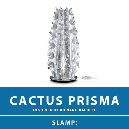 【CACTUS PRISMA:カクタス プリズマ】TABLE LAMP XM テーブルランプ スタンドライト テーブルスタンド スタンド照明 E17 1灯 LED電球付属 間接照明 照明 エレガント 北欧 モダン デザイン 輸入照明 デザイナーズ照明 ブランド照明 ライト ITALY イタリア *SLAMP スランプ