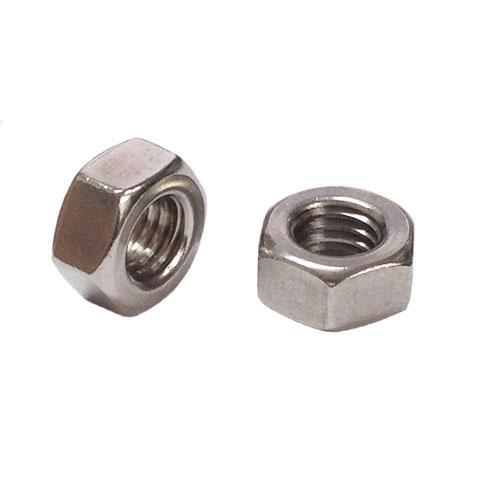 2種六角ナットM14-2.0並目ピッチ【カドミレス真鍮(シンチュウ)/生地/1000個入】(二面幅22高さ11)