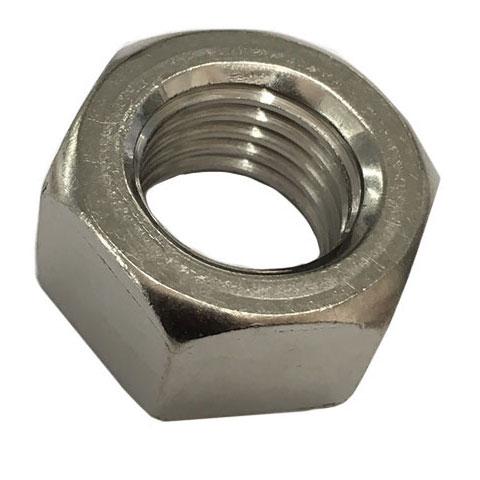 1種10割六角ナットM20-2.5並目ピッチ【鉄/三価ホワイト/100個入】(二面幅30高さ20)