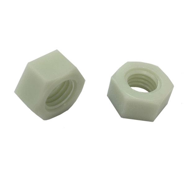 1種六角ナットM6-1.0並目ピッチ【RENY(レニー)/生地/1000個入】(二面幅10高さ5)