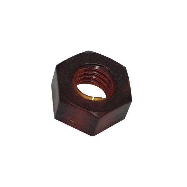 1種六角ナットM6-1.0並目ピッチ【オーラム(熱可塑性ポリイミド)/生地/100個入】(二面幅10高さ5)